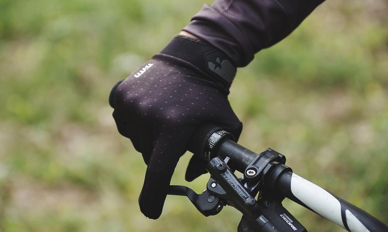 MTB rukavice THTD Black Dots